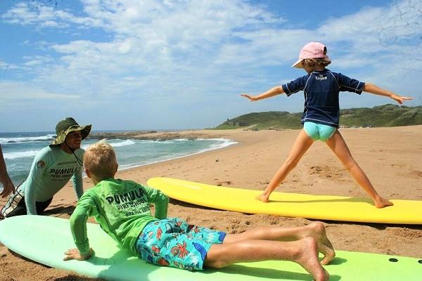 Pumula Surf Camp and Surf School