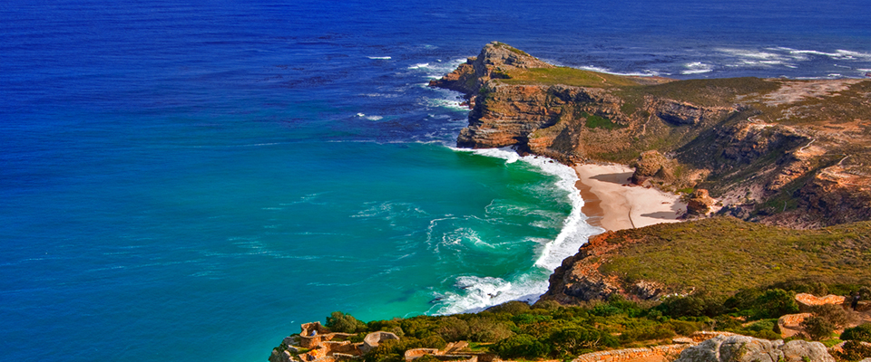 Image of coastline at Cape of Good Hope