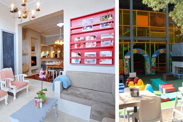Image of interior and playground at Bambanani