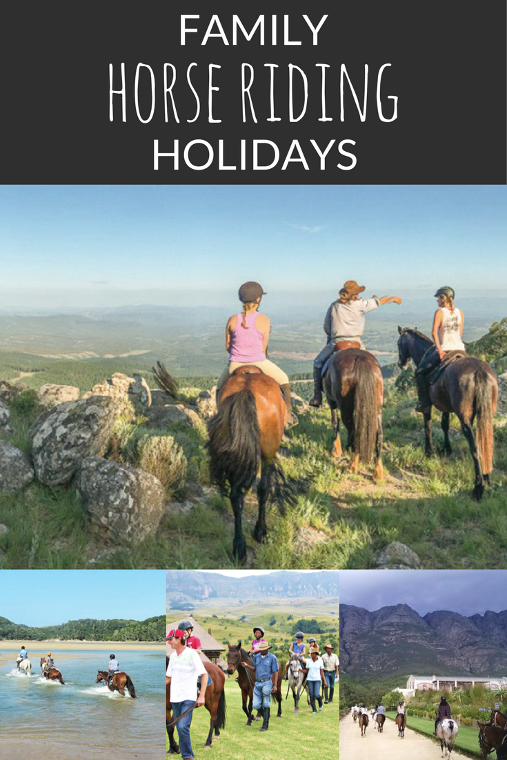 Family Horse Riding Holidays Holidays Kids